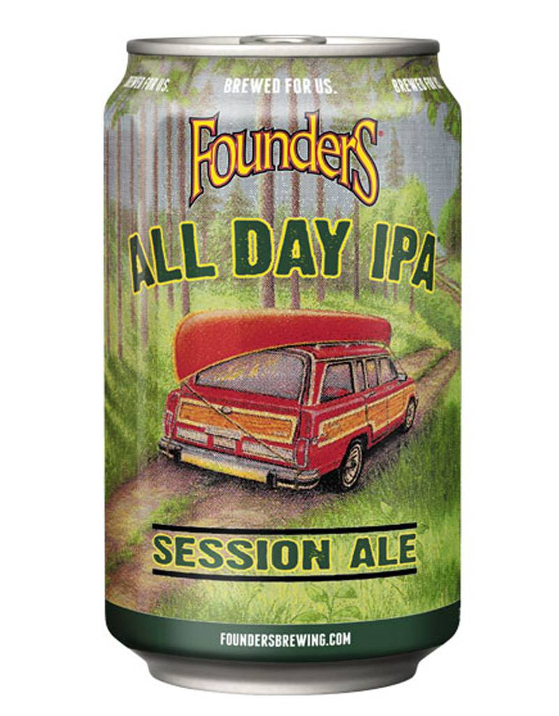 Founders Brewing Co. All Day IPA Session Ale, 6pk Cans