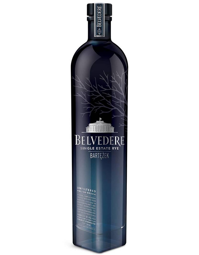 Belvedere Lake Bartężek Vodka, Single Estate Diamond Rye, Poland 1L