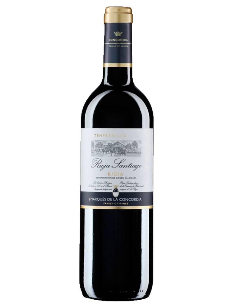 Marques de la Concordia 2017 Rioja Santiago Tempranillo, Rioja DOCa, Spain