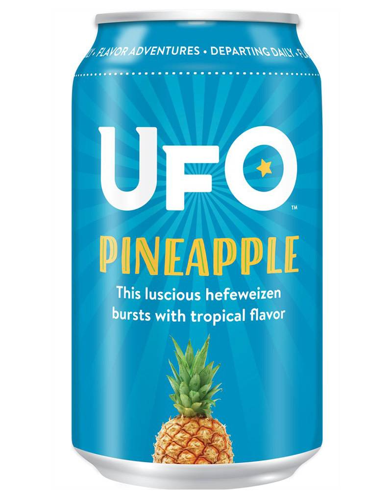 UFO Pineapple Hefeweizen, 6pk Can