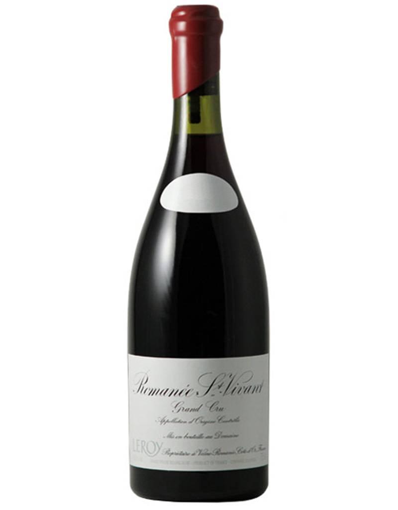 Domaine Leroy 2014 Romanee St. Vivant, Grand Cru [Bottle# 00237], Cote de Nuits, Burgundy, France