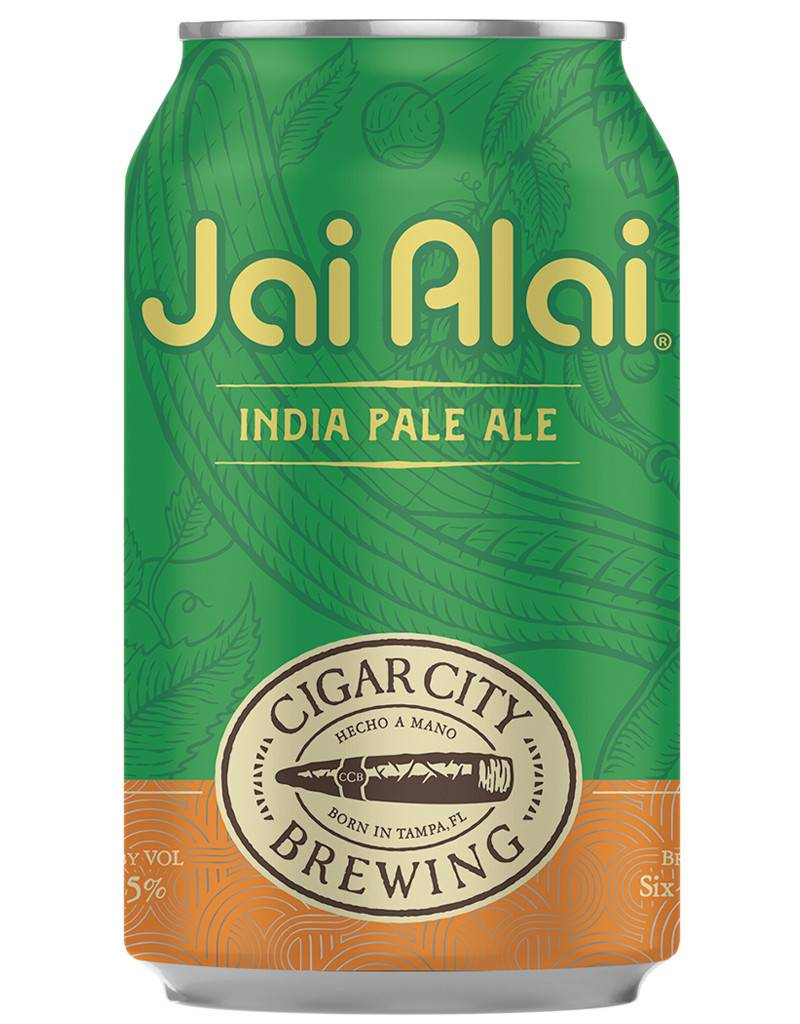 Cigar City Brewing Cigar City Jai Alai IPA, 12pk Cans