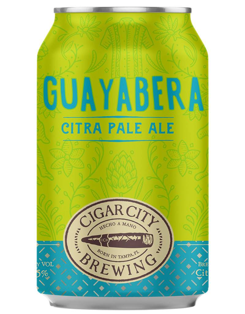 Cigar City Brewing Co. Guayabera Citra Pale Ale, 6pk Cans