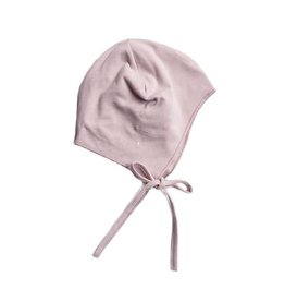 Gray Label Baby Hat w strings vintage pink