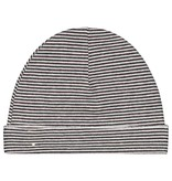 Gray Label Baby Beanie black/cream stripe