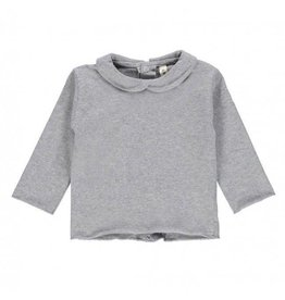 Gray Label Collar tee-Shirt grey
