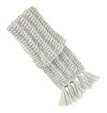 Aymara Hand-knit Maywa scarf Grey