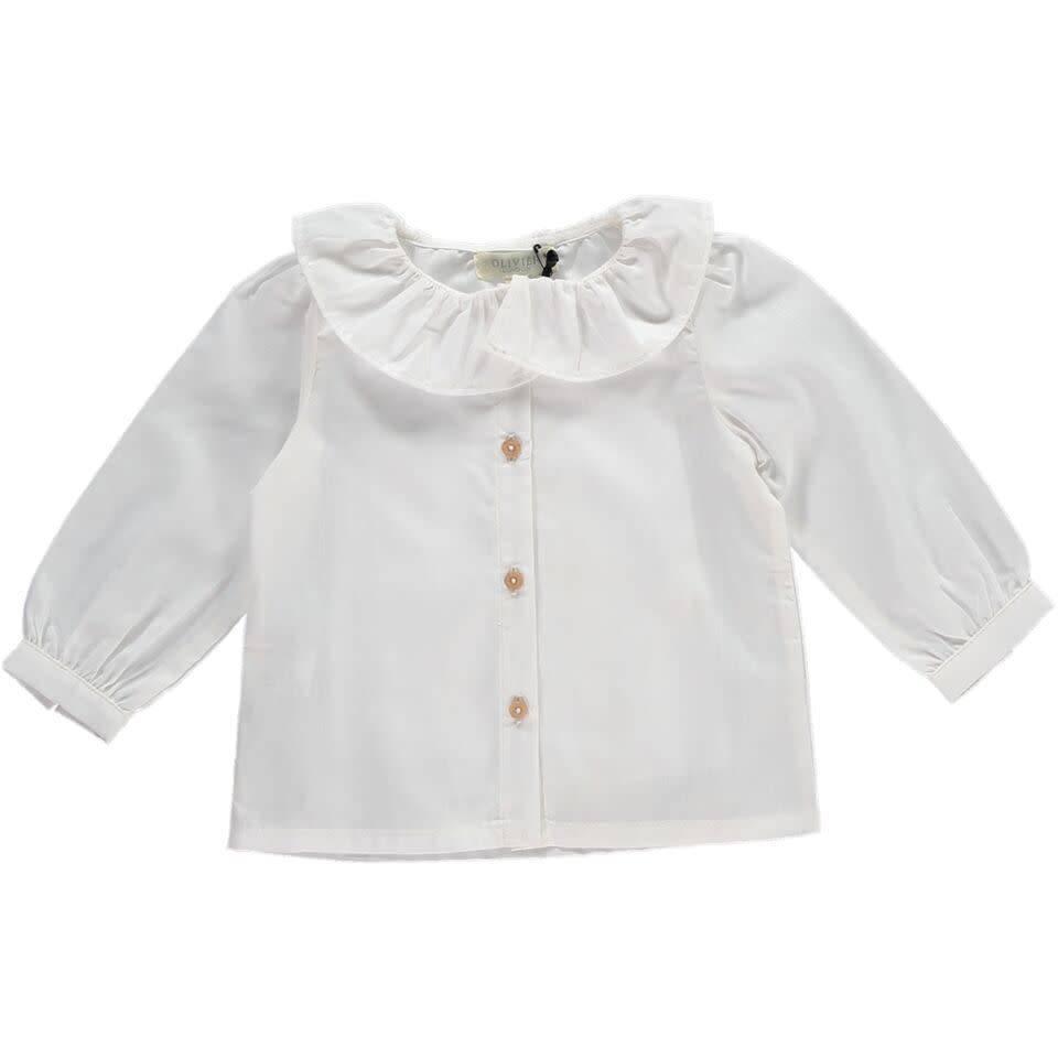 Olivier baby Wilma Shirt White