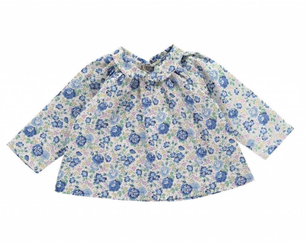 Olivier baby Wilma Blouse Wysteria Blue