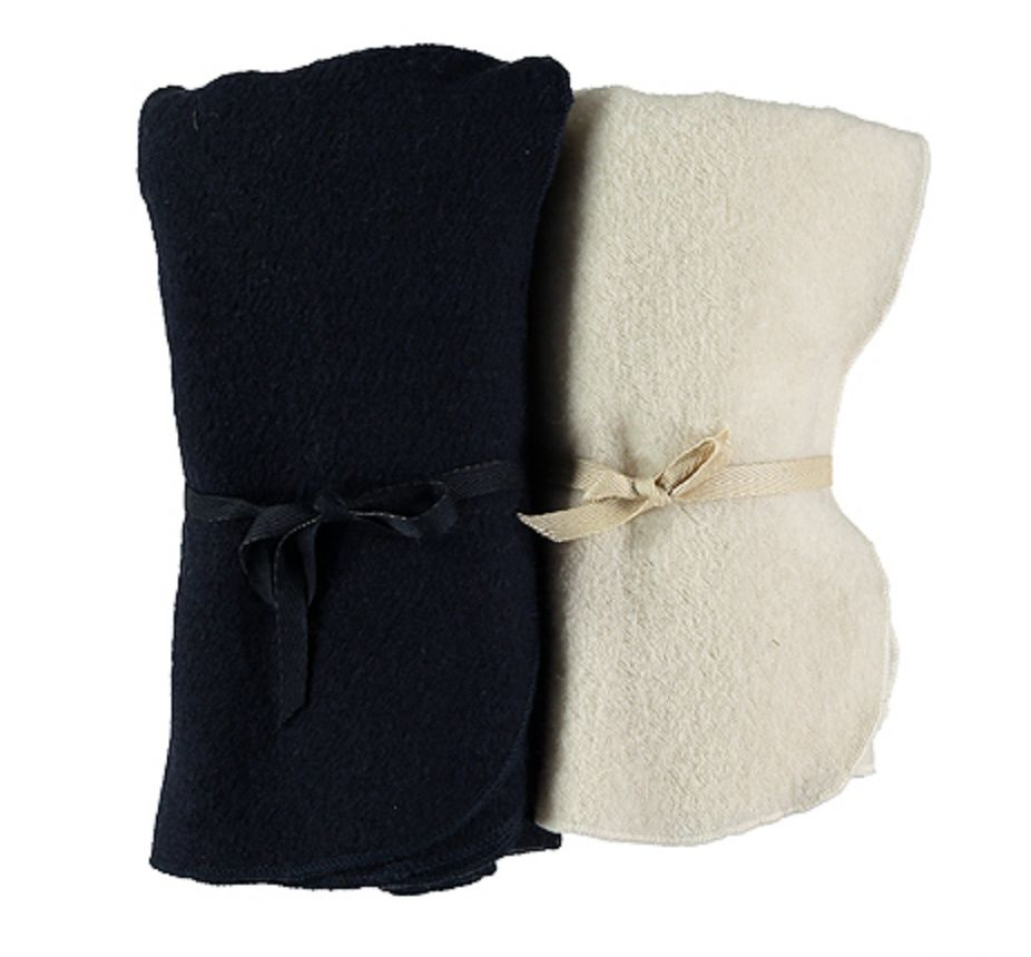 Pequeno Tocon Cream Wool blanket