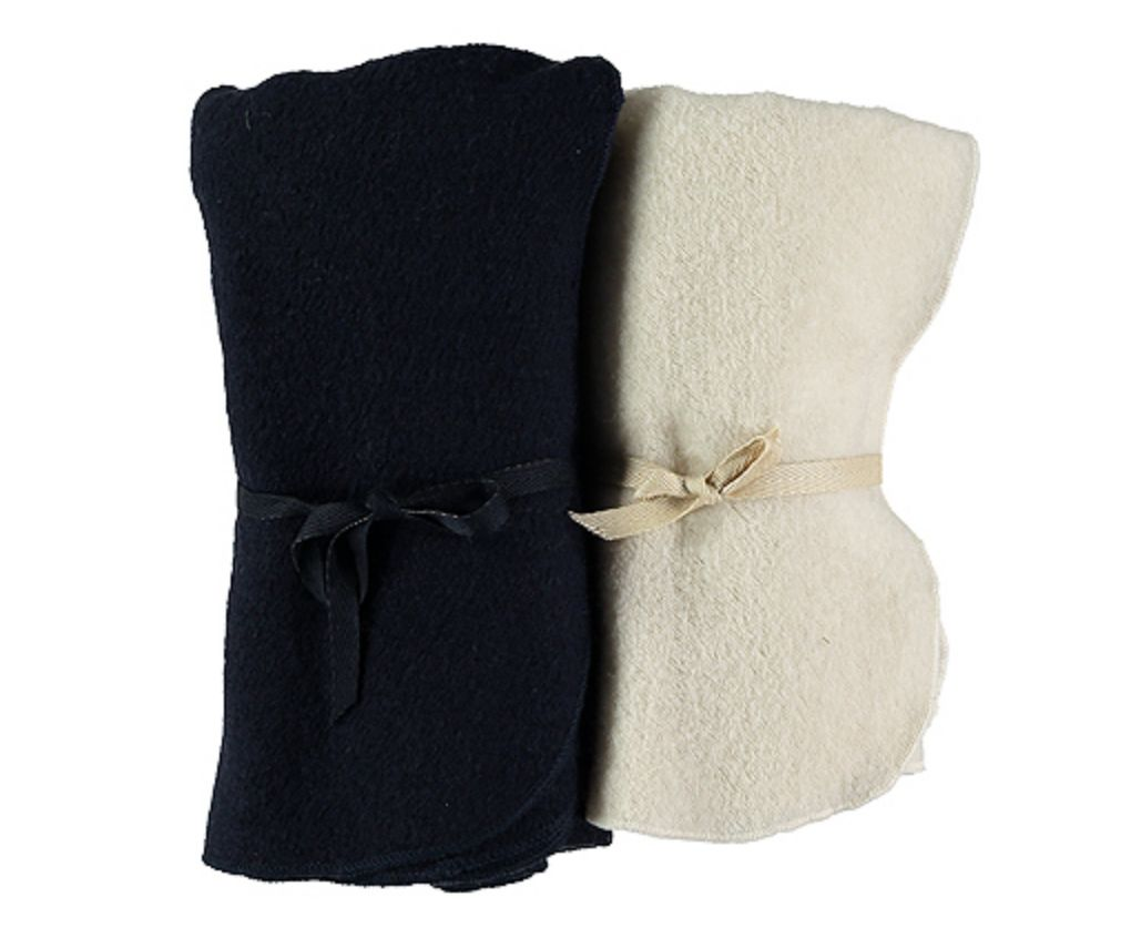 Pequeno Tocon Navy wool blanket