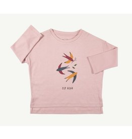 Red Caribou Oversized Tee-Shirt Fly High