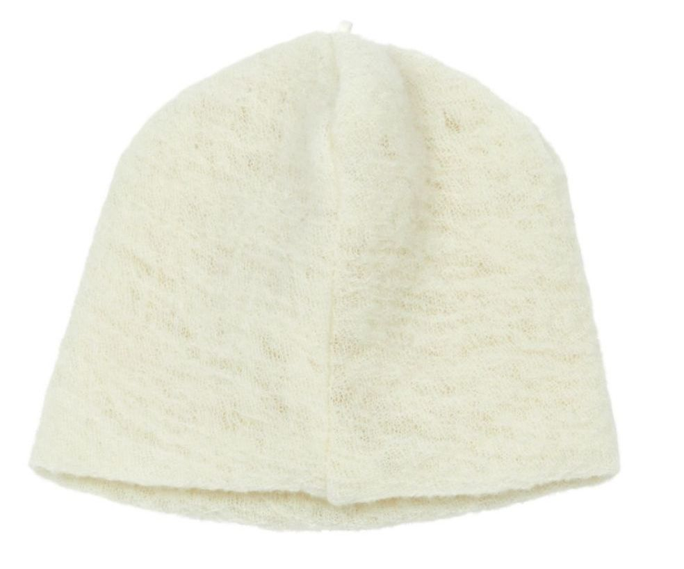 Pequeno Tocon Natural wool hat