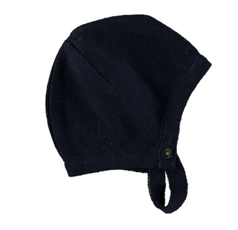 Pequeno Tocon Navy bonnet