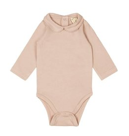 Gray Label Onesie with collar vintage pink