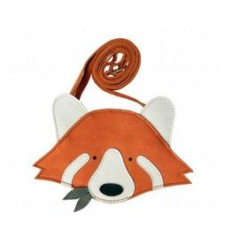 donsje Red Panda Purse