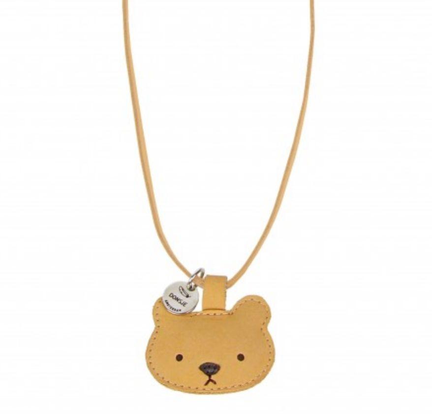 donsje Bear Necklace