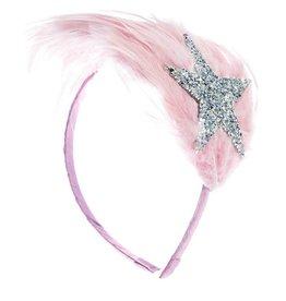 Ooahooah Pink feather headband