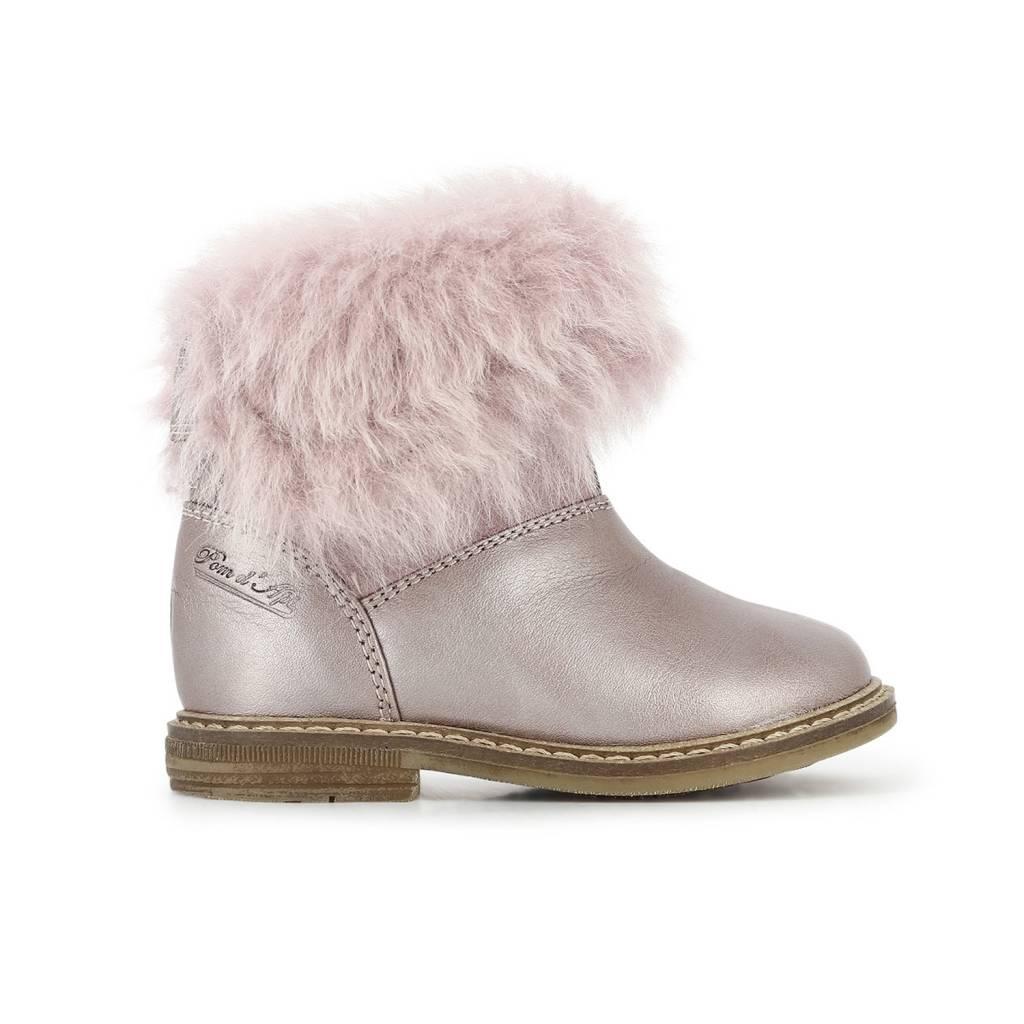 Pom d'Api Boots Retro chabraque blush