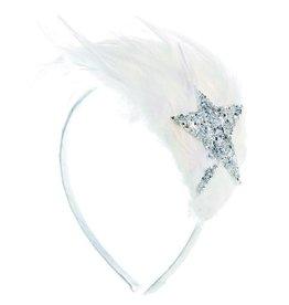 Ooahooah White feather headband