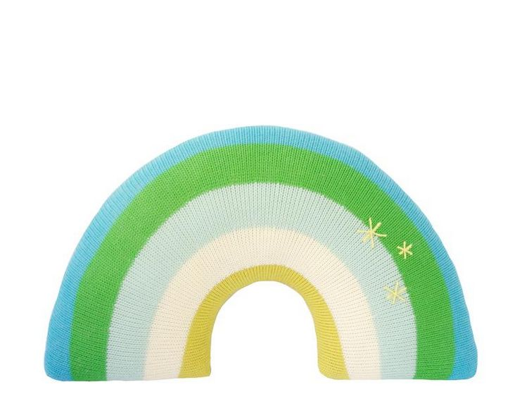 Blabla Kids BlaBla Blue Rainbow Pillow