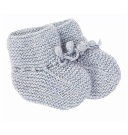 Oliver baby Cashmere Booties Blue