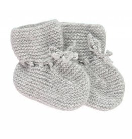 Oliver baby Cashmere Booties Grey
