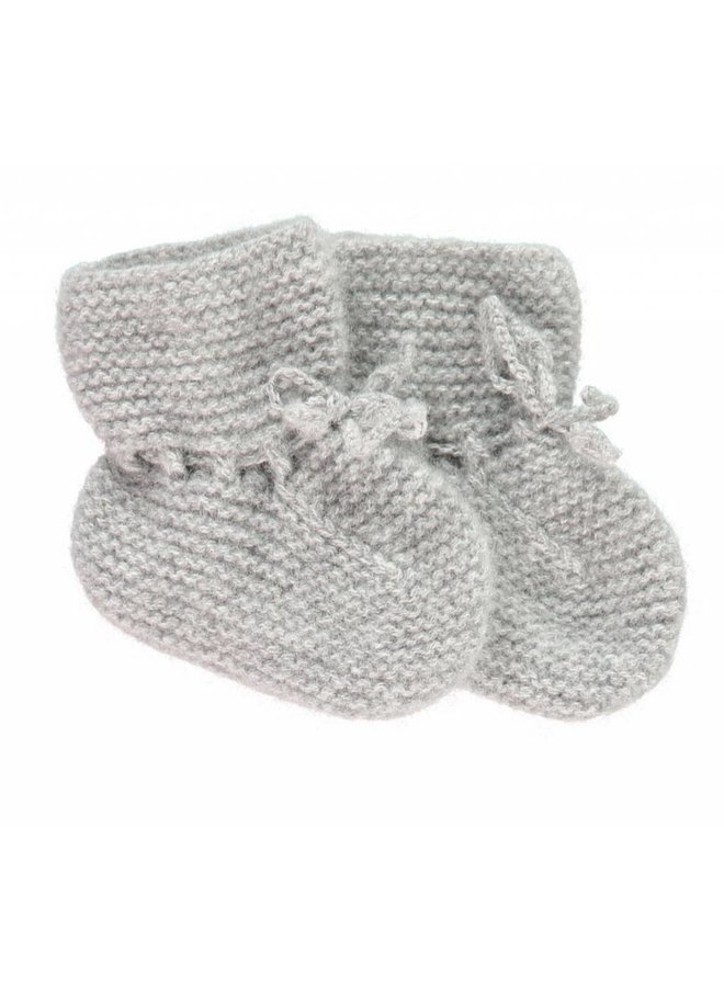 Cashmere Booties Grey