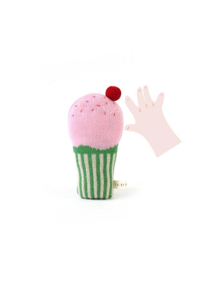 Cupcake Rattle