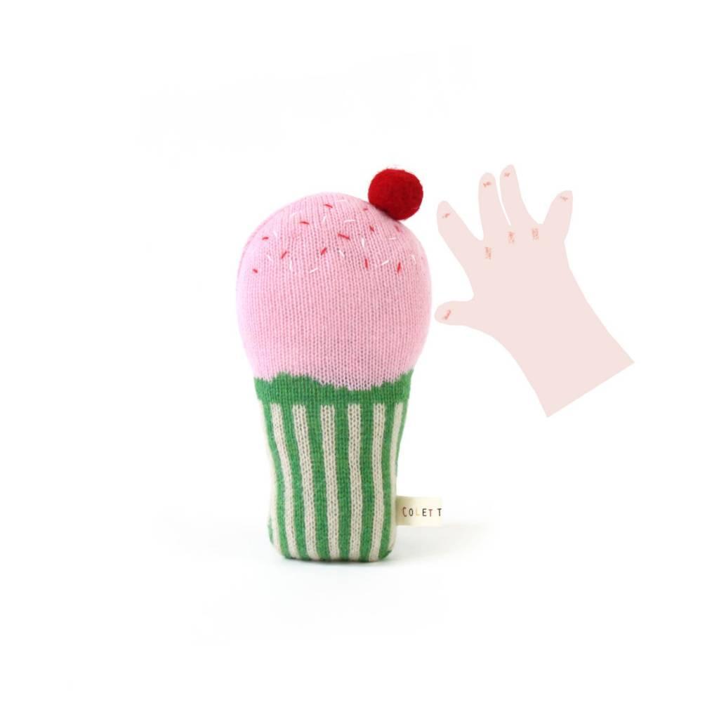 Colette Bream Cupcake Rattle
