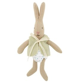 Maileg Bunny With Vest Green
