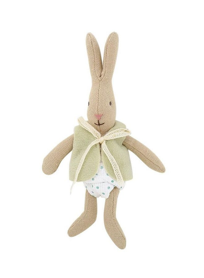 Bunny With Vest Green