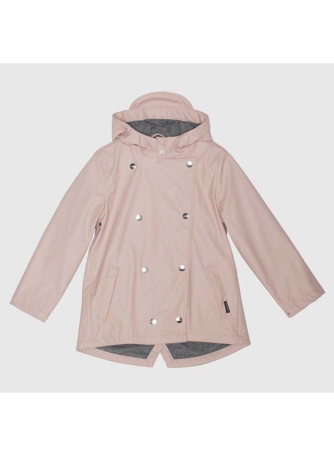 Evening Sand Lined Raincoat