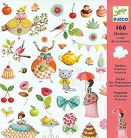 Djecco Djeco Stickers - Princess Tea Party