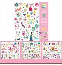 Djecco 1000 stickers pink