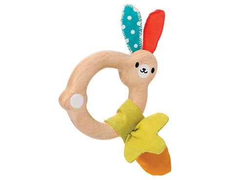 Plan Toys Bunny Rattle