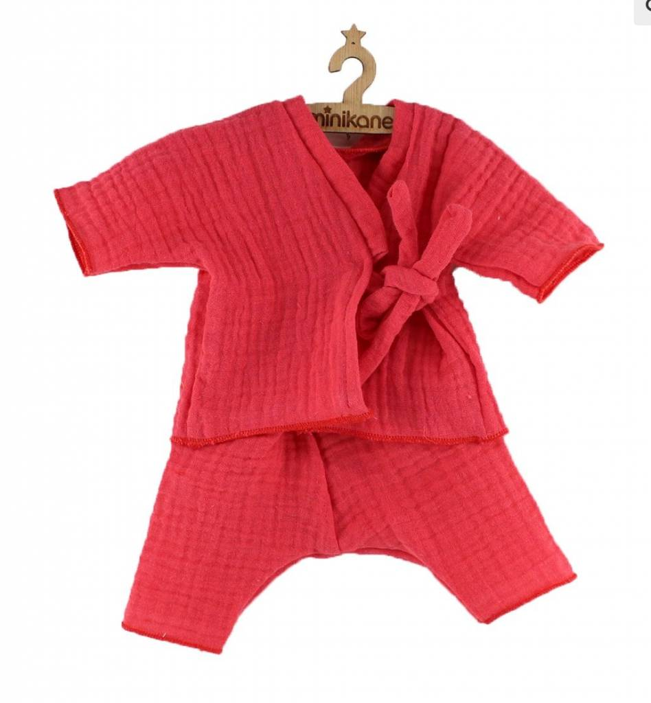 minikane Kimono Lange Corail
