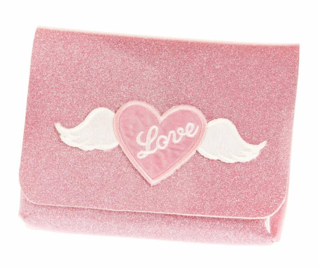 Ooahooah Pink Shimmer Love Bag