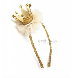 Ooahooah Gold crown headband