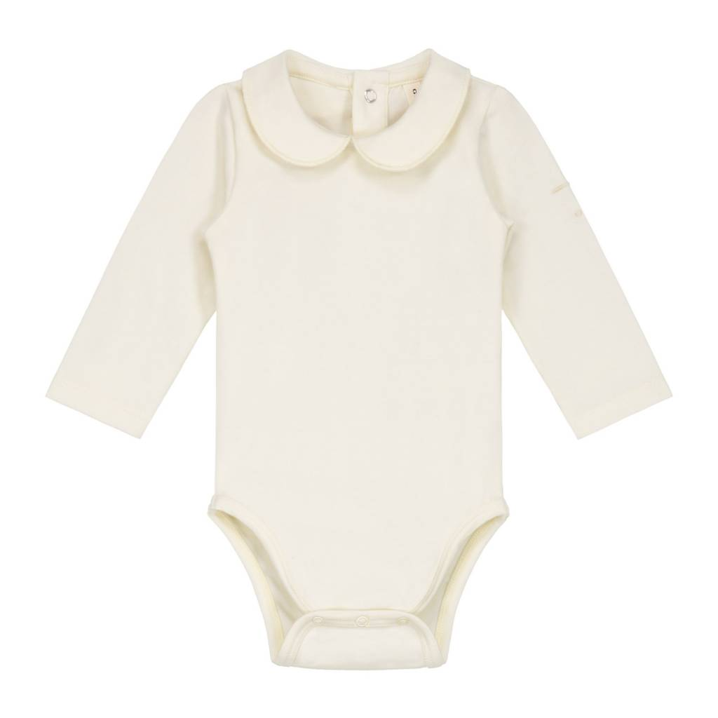 Gray Label Onesie with collar cream