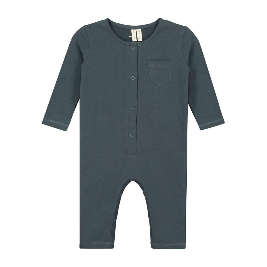 Gray Label Blue Grey L/S Playsuit