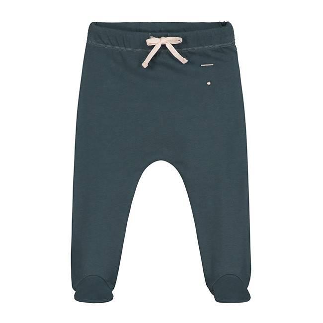 Gray Label Footies Blue Grey