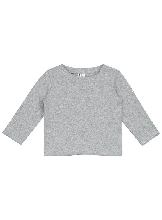 Grey Baby L/S Tee