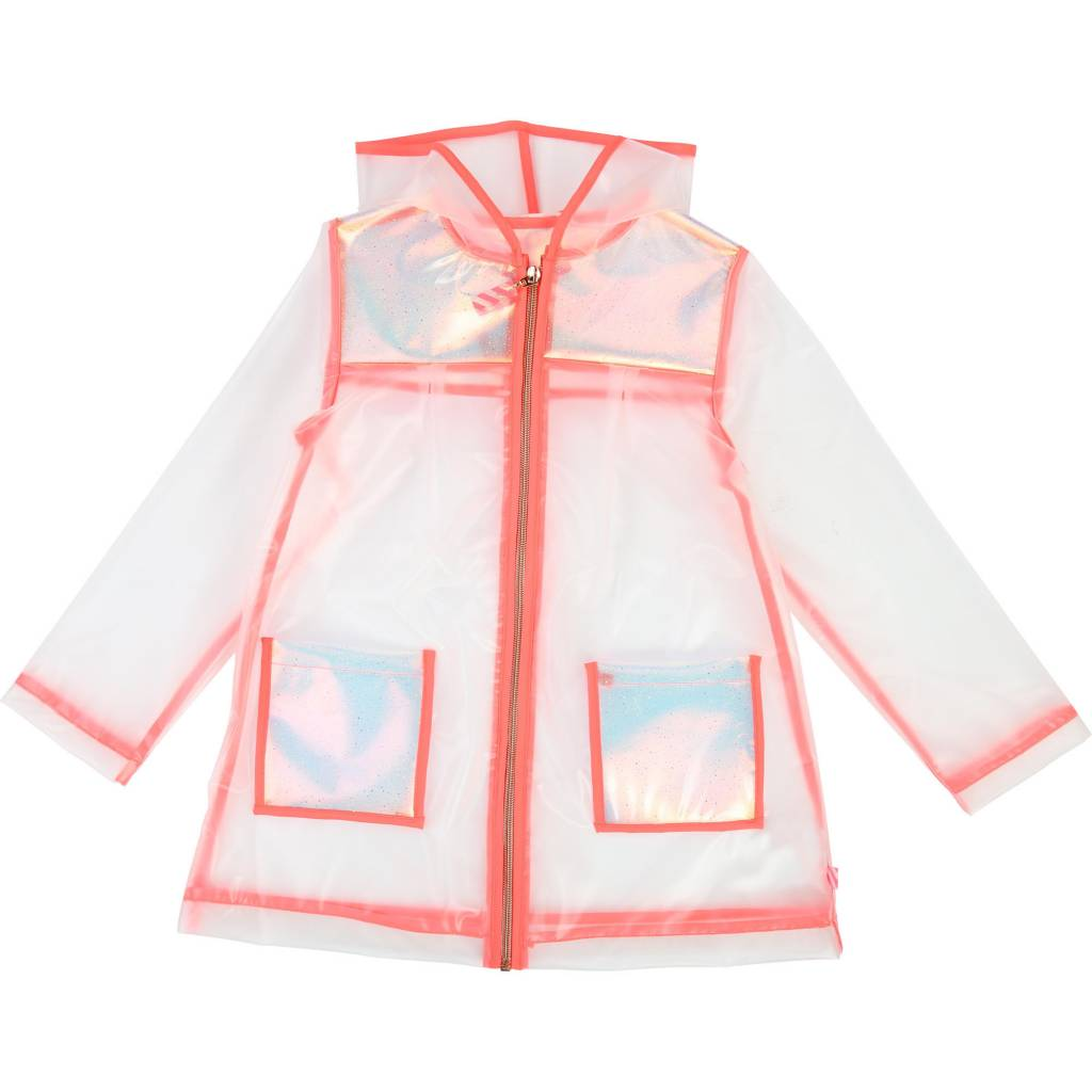 Billieblush Clear Raincoat