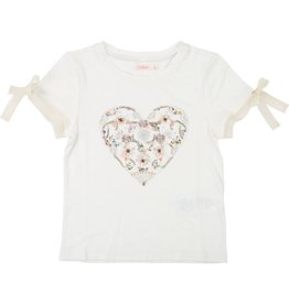 Billieblush Beaded Heart Tee