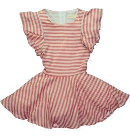 Mademoiselle à Soho Red Stripe Dress