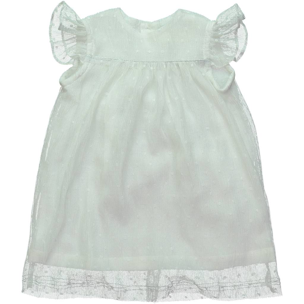 Mademoiselle à Soho Dorothy Dress White