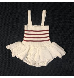 Pequeno Tocon Red Tutu Dress