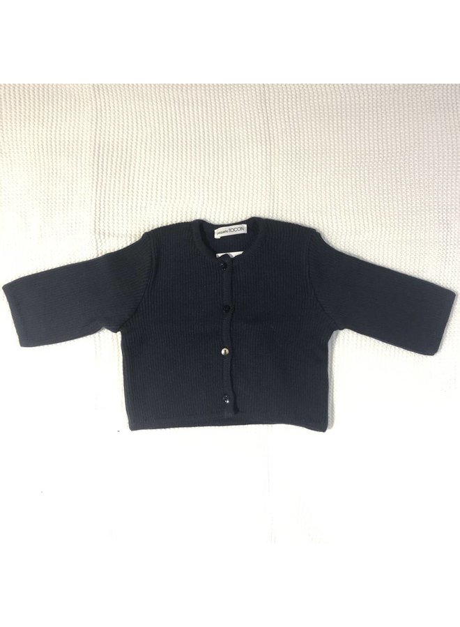 Navy Button Jacket