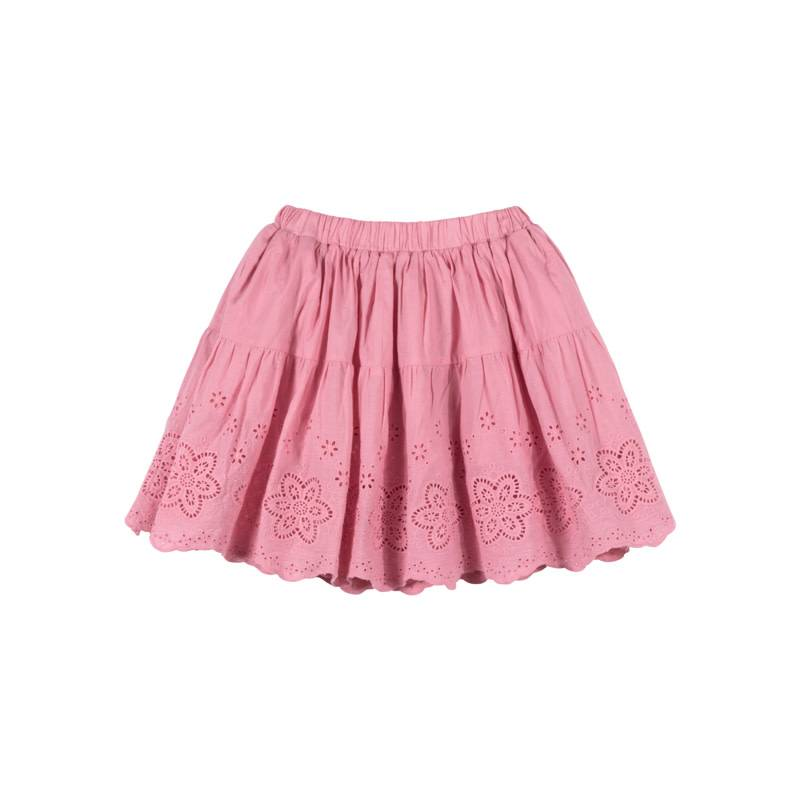 Paper Wings Pink Lace Skirt
